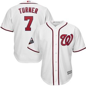 Nationals Trea Turner 2019 World Series Jersey